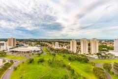 Taksikt av Ribeirao Preto - SP, Brasilien royaltyfri bild