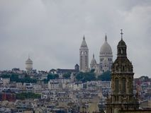 Taksikt - Paris stad Royaltyfri Fotografi