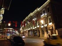 Taksim-Besiktas Akaretler Royalty-vrije Stock Afbeelding