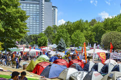 Taksim Gezi Park protests and Events. royalty free stock photos