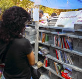 Taksim Gezi Park protests and Events. Marauder Library of protesters royalty free stock image