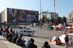 TAKSIM GEZI PARK RESISTANCE, ISTANBUL. Stock Photos