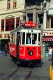 Taksim-Istiklal gata i Istanbul Arkivbilder