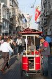 Taksim Istiklal Straße Stockfoto