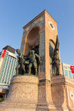 Taksim Monument of the Republic Royalty Free Stock Photography