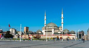 Free Taksim Mosque Is A Mosque Complex At Taksim Square. ISTANBUL, TURKEY. Stock Images - 220566644