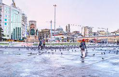 The Taksim Square Royalty Free Stock Photo