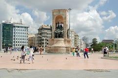 Taksim Square, Istanbul Stock Photo