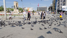 Taksim square, Istanbul, Turkey Stock Photography
