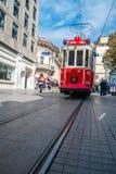 Taksim tram, Istanbul Royalty Free Stock Image