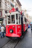Taksim tram Royalty Free Stock Photo