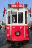Taksim tram Stock Image