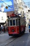 Taksim tranport 免版税库存照片