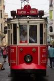 Taksim Trem Fotografía de archivo