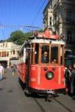 Taksim-Tunel Nostalgic Tram Stock Photo