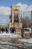 Taksim zabytek republika Zdjęcie Royalty Free