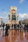 Taksim zabytek republika Fotografia Stock