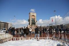 Taksim zabytek republika Obraz Royalty Free