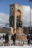 Taksim zabytek republika Obrazy Royalty Free