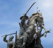 Taksin国王纪念碑, Chantaburi泰国 库存照片