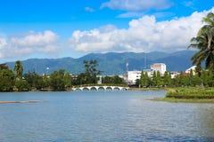 Taksin King Park - Chanthaburi ,Thailand stock image