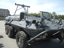Taktisches Angriffs-Fahrzeug lizenzfreie stockfotos