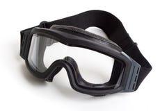 taktiska goggles Royaltyfri Foto