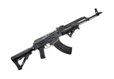 Taktiskt AK-47 gevär royaltyfri foto