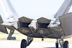 Taktiskt kämpeflygplan för rovfågel F-22 royaltyfri fotografi