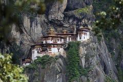 Taktsang. Bhutan, Paro Valley, Taktsang temple Royalty Free Stock Photos
