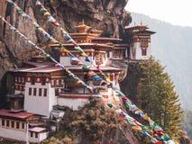 Taktsang Dzong Stockbilder