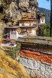 Taktsang monaster Fotografia Royalty Free