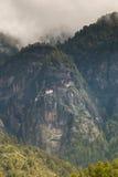 Taktsang Palphug monaster Paro, Bhutan (także znać jako Tygrysi gniazdeczko) Fotografia Stock
