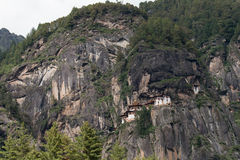 Taktsang Palphug Monastery (also known as The Tiger nest) , Paro, Bhutan Stock Photos