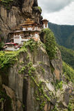 Taktsang Palphug Monastery (also known as The Tiger nest) , Paro, Bhutan Royalty Free Stock Photography