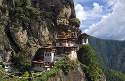 Taktshang Goemba, Μπουτάν στοκ εικόνα