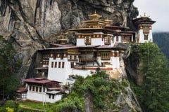 Taktshang Goemba, монастырь гнезда тигра, Paro, Бутан стоковые фото