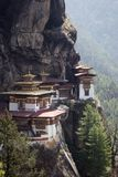 Taktshang Goemba, Bhutan Stock Afbeelding