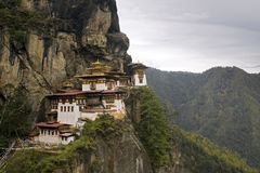 Taktshang Goemba (Tiger-Nest-Kloster), Bhutan Stockfoto