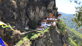 Taktshang palphug klooster stock video