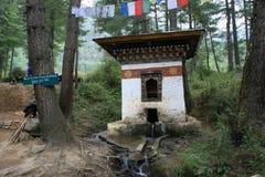 Taktshang - Paro - Bhután Foto de archivo libre de regalías