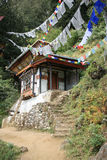 Taktshang - Paro - Bhutan (3) Royalty-vrije Stock Fotografie