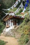 Taktshang - Paro - Butão (3) Fotografia de Stock Royalty Free