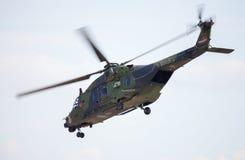 Taktycznego oddziału wojskowego helikopter NH90 fotografia royalty free