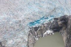 Taku Glacier Stockfotos