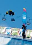 Taku Hiraoka, de Olympische Spelen 2012 van de Jeugd Royalty-vrije Stock Foto's