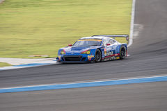 Takuto Iguchi of R&D SPORT in Super GT Final Race 66 Laps at 201 Stock Photo