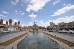 Takyeh Amir Chakhmagh, Yazd, Irán Fotos de archivo libres de regalías