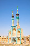 Takyeh Amir Chakhmgh Mosque Stock Image
