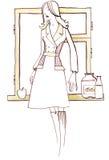 70-tal royaltyfri illustrationer